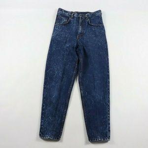 Vintage Gitano Acid Wash High Waisted Mom Jeans 28